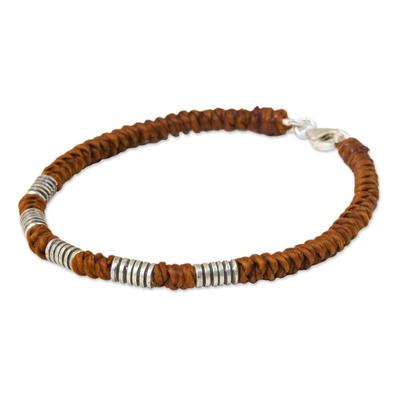 Handmade Wristband Braided Bracelet from Thai Artisan