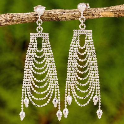 Original sterling silver chandelier earrings from thailand silver sterling silver chandelier earrings silver gowns original sterling silver chandelier earrings from aloadofball Images