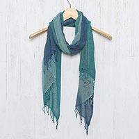 Featured review for Silk scarf, Elusive Summer