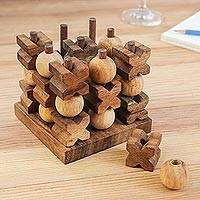 Wood game, 3D Tic Tac Toe