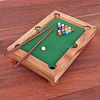 Wood mini billiards game, Best of Billiards