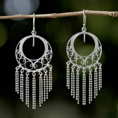 Sterling silver chandelier earrings from thailand raining romance sterling silver chandelier earrings raining romance sterling silver chandelier earrings from thailand aloadofball Choice Image