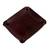 Leather catchall, 'Russet Espresso' - Handcrafted Thai Leather Catchall in Russet and Espresso (image 2c) thumbail