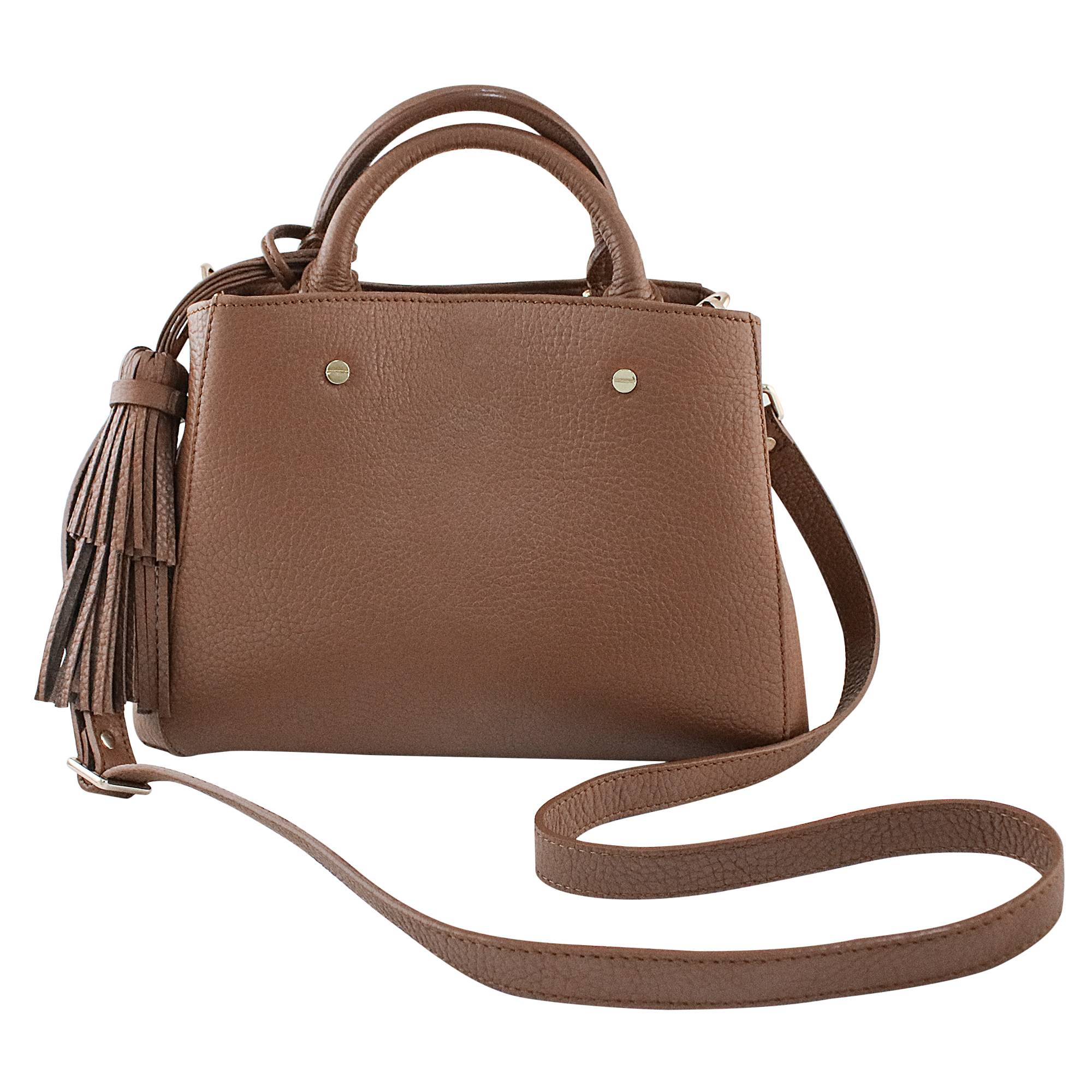 Novica Leather sling, Espresso Chic