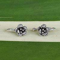 Featured review for Sterling silver ear cuffs, Garden Blossoms