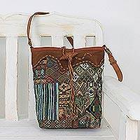 Novica Silk sling bag, Day Tripper