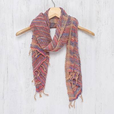 Cotton scarf, Charming Candy