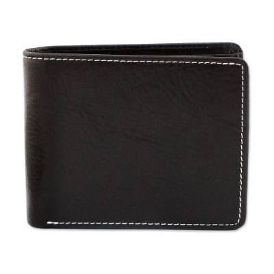 Fair Trade Genuine Leather Wallet for Men from Thailand