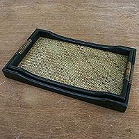 Wood nesting trays,