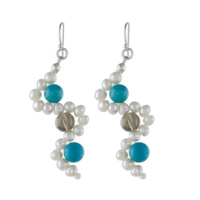 Cultured Pearl Earrings from Thailand