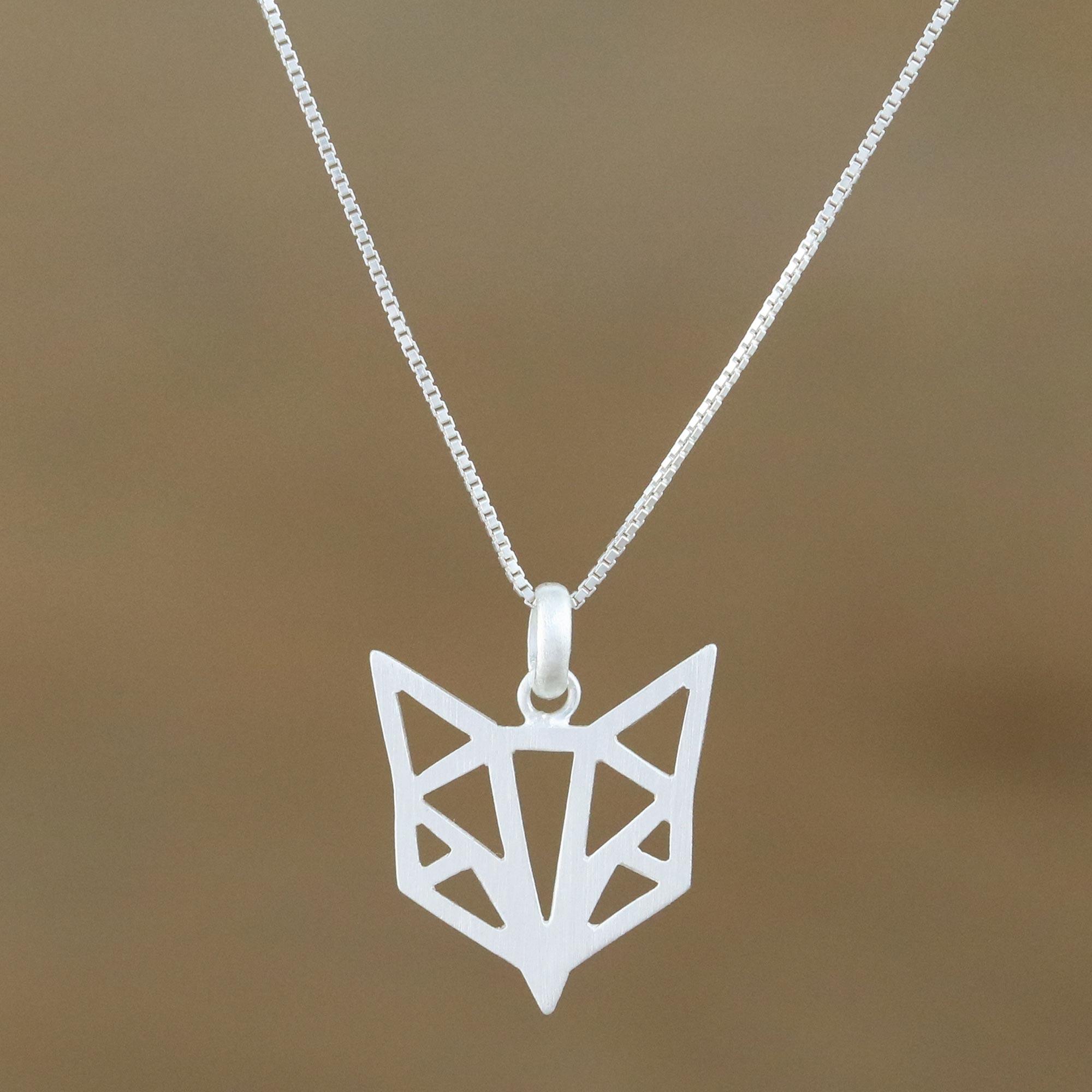 Fox Bone Forest Necklace