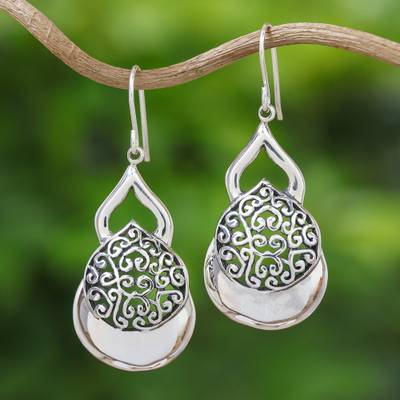 b4b8eddcf UNICEF Market | Sterling Silver Dangle Earrings Hand Crafted in ...