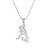 Sterling silver pendant necklace, 'Elephant Melody' - Sterling Silver Elephant Pendant Necklace from Thailand (image 2a) thumbail