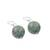 Jade dangle earrings, 'Touch of Jade' - Jade Bead and Sterling Silver Dangle Earrings from Thailand (image 2c) thumbail