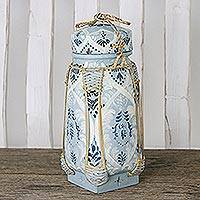 Featured review for Decorative ceramic and bamboo jar, The Shallows