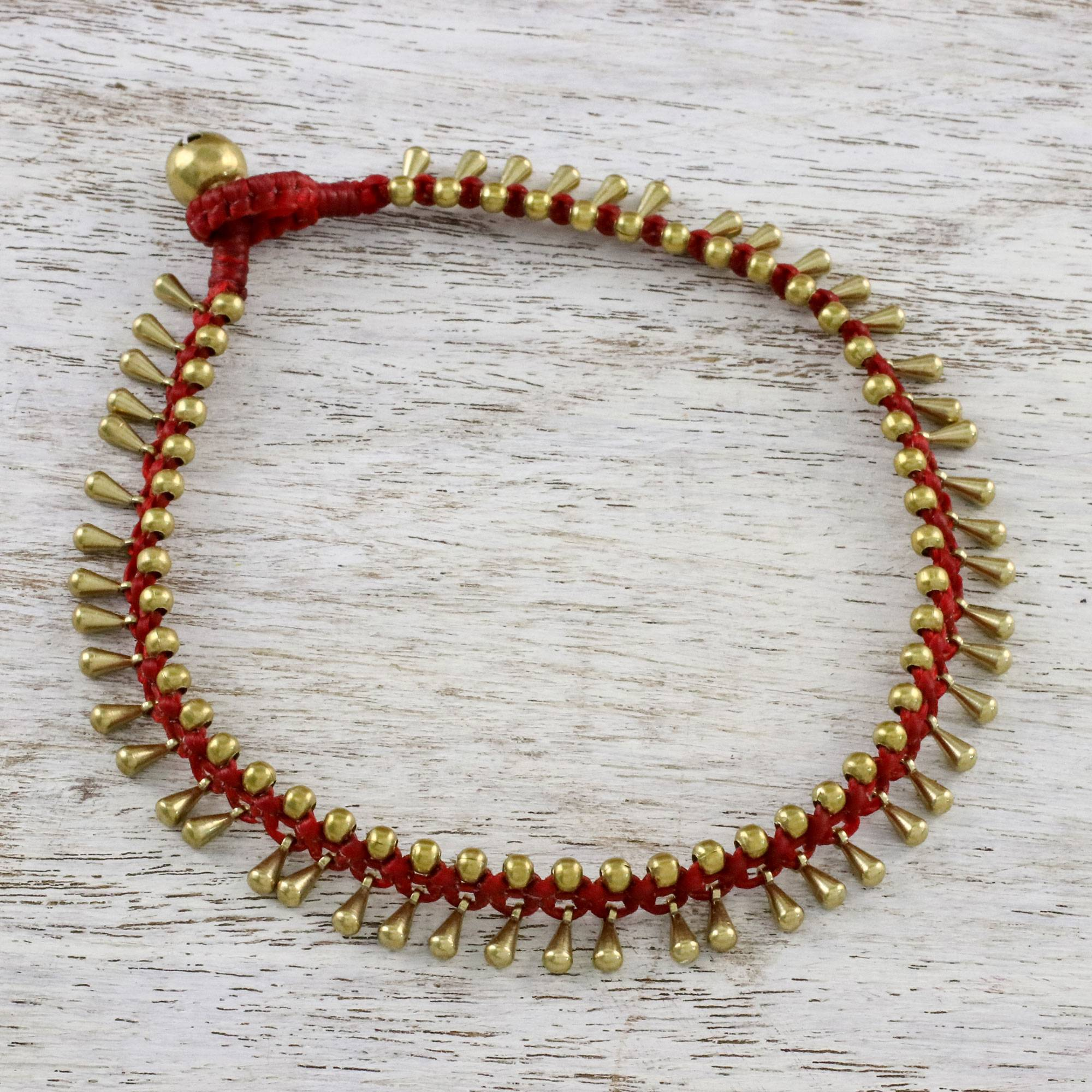 clasp with garnet scarlet today ball watches buy sterling jewelry lobster palace dangling charms india link ankelet claw red shipping silver anklet handmade bracelet product free