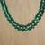 Quartz beaded necklace, 'Double Jungle Strand' - Double Strand Quartz Beaded Necklace from Thailand (image 2b) thumbail