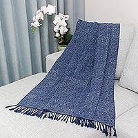 Batik cotton throw, 'Classic Technique' - Artisan Crafted Batik Cotton Throw from Thailand