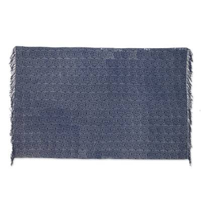 Artisan Crafted Batik Cotton Throw from Thailand