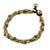 Unakite beaded torsade bracelet, 'Musical Love' - Unakite and Brass Beaded Torsade Bracelet from Thailand (image 2c) thumbail