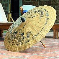 Paper parasol,