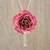 Gold plated natural rose lariat necklace, 'Pink Garden Rose' - Medium Pink Natural Rose Gold-Plated Lariat Necklace thumbail