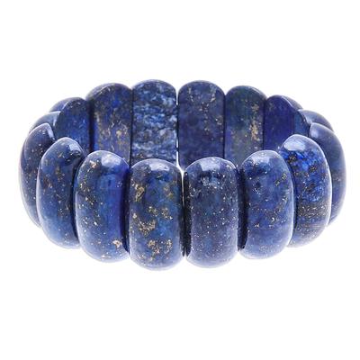 Lapis Lazuli Stretch Bracelet from Thailand