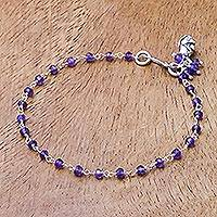 Featured review for Amethyst link bracelet, Iris Secret