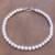 Cultured pearl beaded necklace, 'Fantastic Glow' - Cultured Pearl Beaded Necklace from Thailand (image 2) thumbail