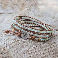 Featured review for Quartz beaded wrap bracelet, Calm Touch