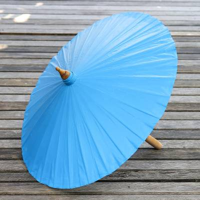 Cotton parasol, Simple Shade in Azure