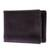 Men's leather wallet, 'Executive Espresso' - Men's Espresso Leather Wallet with Money Clip from Thailand (image 2a) thumbail