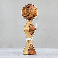 Wood toy, 'Kendama Joy'