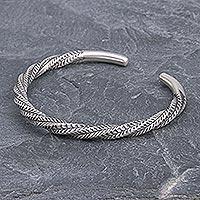 Design Silver Bangle Woven Filigree Silver Bracelets 925 Silver//152