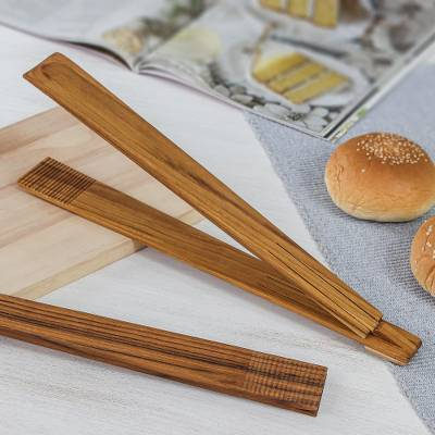 Teak wood tongs, Amiable Host