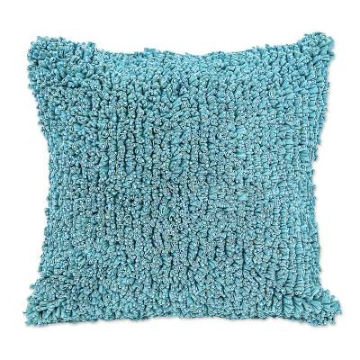 Eco-Friendly Hand Knit Cotton Cushion Cover from Thailand