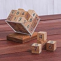 Wood game, 'Sudoku Fun'