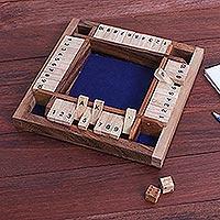Wood game, 'Shut The Box'
