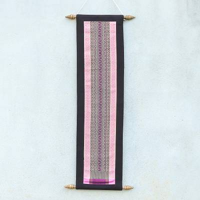 Cotton wall hanging, 'Lovely Day' - Handmade Cotton Wall Hanging from Thailand