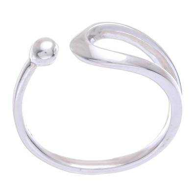 Hand Crafted Sterling Silver Wrap Ring