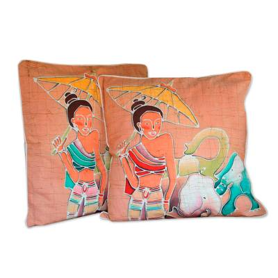 Cotton Cushion Covers (Pair)
