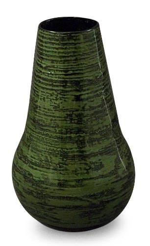 Lacquered bamboo vase