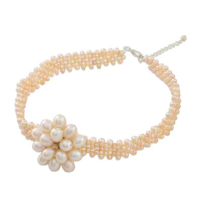 Bridal Pearl Choker Necklace