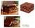 Lacquered wood jewelry box, 'Golden Land' - Lacquered wood jewelry box (image 2) thumbail