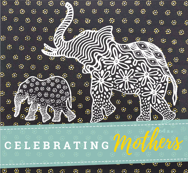 CELEBRATING MOTHERS | Moms make the world go round! Celebrate motherhood today with a little treat.