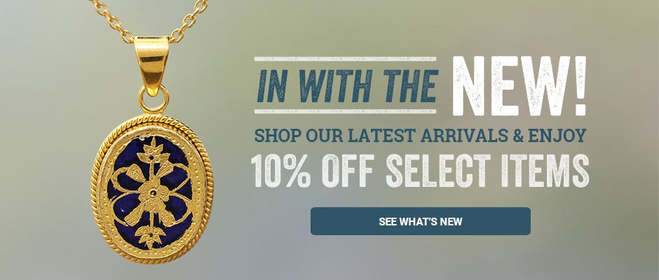 In with the new! Shop our latest arrivals and save 10% on select items. See what's new!