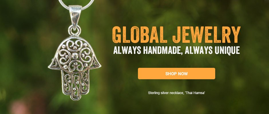 Global Jewelry - always handmade, always unique. Shop now!