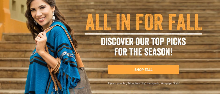 All in for Fall! Discover our top picks for the season. Shop Fall