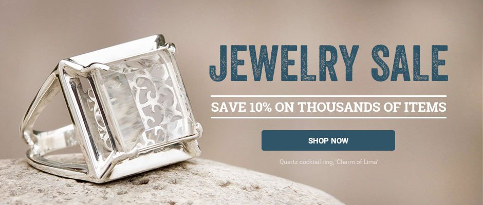 Jewelry Sale! Save 10% on thousands of items. Shop now!