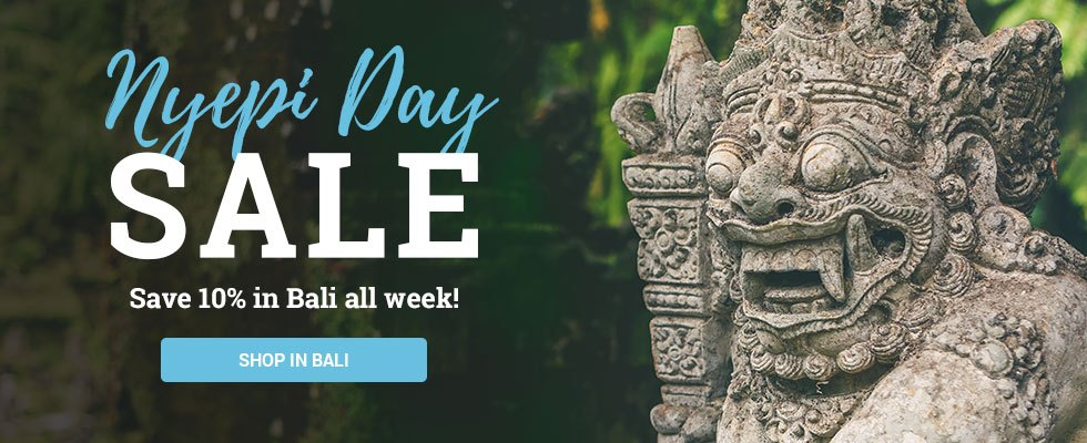 Bali and Java Sale